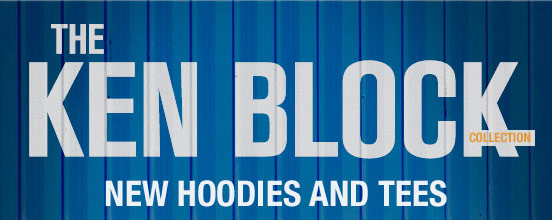 The Ken Block new hoodies and tees
