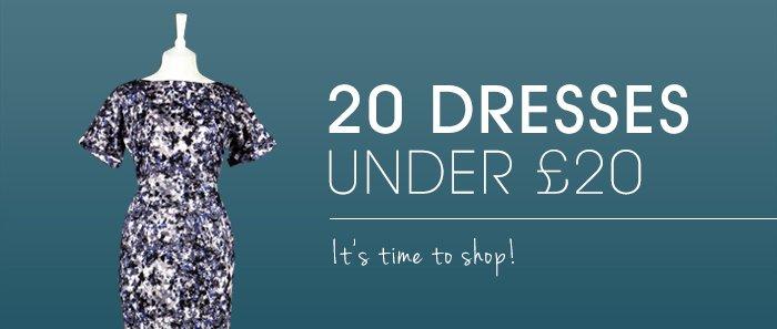 20 Dresses under £20