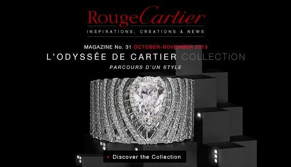 L'ODYSSÉE DE CARTIER COLLECTION - PARCOURS D'UN STYLE - Discover the Collection