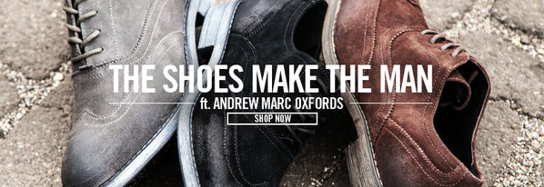 Shop The Shoes Make the Man