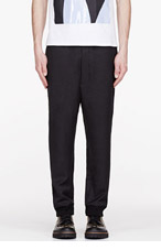 MARNI BLACK LOUNGE PANTS for men