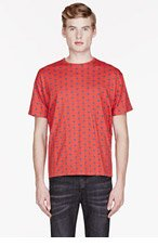 MARC BY MARC JACOBS Red DALSTON DOT T-shirt for men