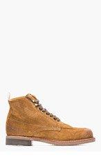 RAG & BONE Tan Suede Rowan Boots for men