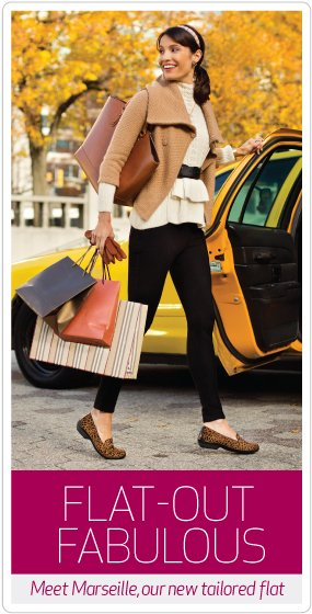 Flat-out fabulous. Check out the new Dansko tailored flat collection.