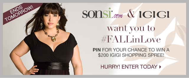 Pin for your chance to win a $200 Igigi shopping spree!