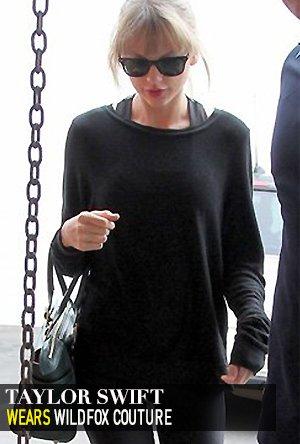 Taylor Swift in Wildfox Essentials