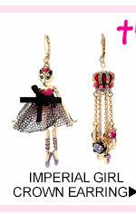 Shop Imperial Girl Crown Earring