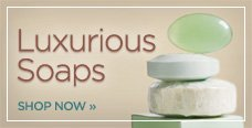 luxurious soaps