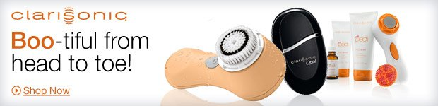 Clarisonic | Boo-tiful from head to toe! Shop Now »
