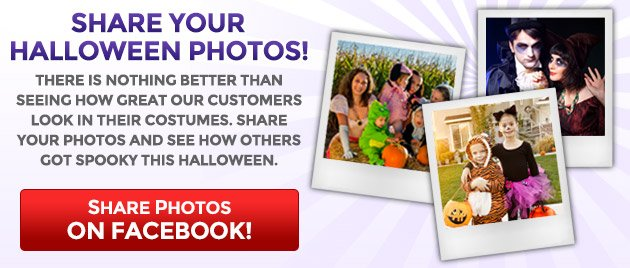Share Your Halloween Photos on Facebook