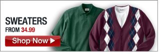 sweaters - from 34.99