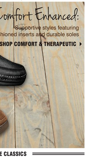 Shop Comfort & Therapeutic