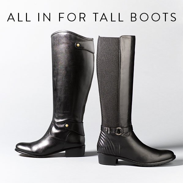 ALL IN FOR TALL BOOTS