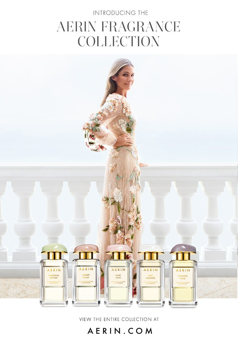Aerin Introducing The Aerin Fragrance Collection Milled