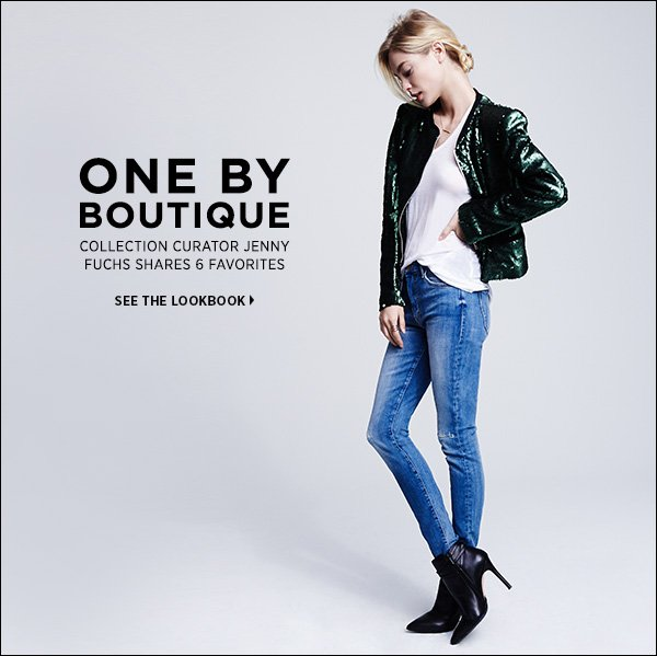 See new arrivals in the ONE by Boutique: a curated collection of the singular items you need this season. >>
