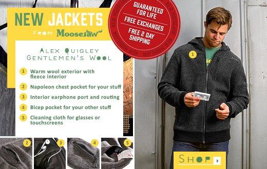 New Jackets From Moosejaw - the Alex Quigley Gentlemen's Wool