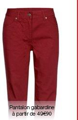 Pantalon gabardine Thermolactyl.