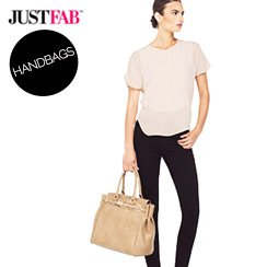 JustFab Handbags Starting at $22