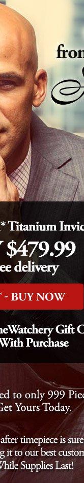 Jason Taylor Limited Edition* Titanium Invicta
