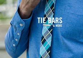 Shop Finishing Touches: Tie Bars & More
