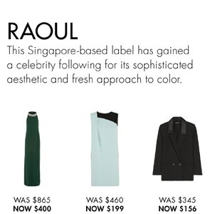 RAOUL UP TO 55% OFF