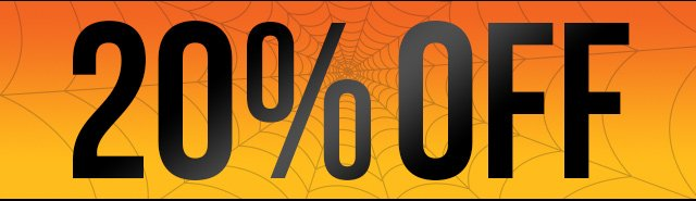 Halloween 20% OFF Weekend Sale now through 11/04/13 Use Code:SCARY20