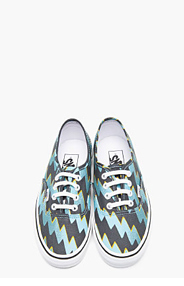 KENZO Blue Canvas Vans Edition Thunder Sneakers for women