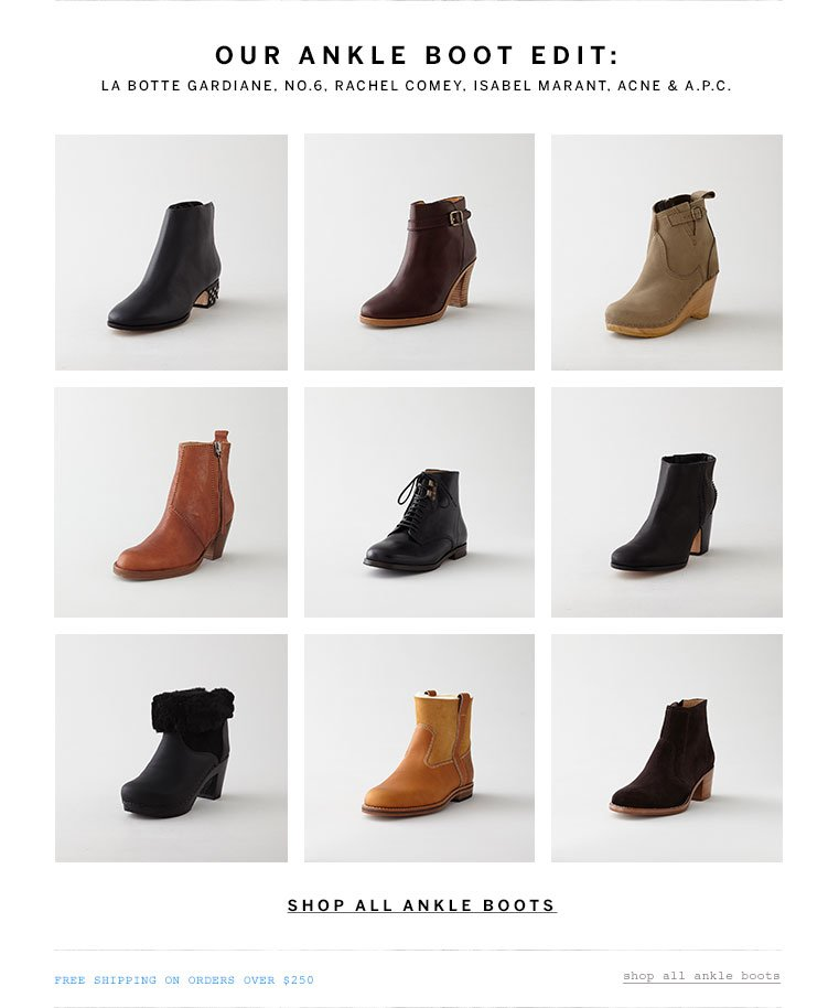 Shop all Ankle Boots