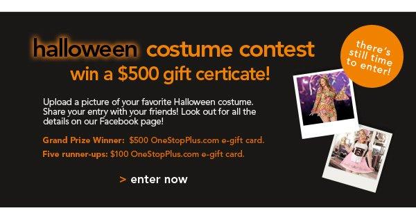 Enter Halloween Costume
