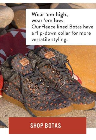 Shop Botas - wear 'em high, wear 'em low