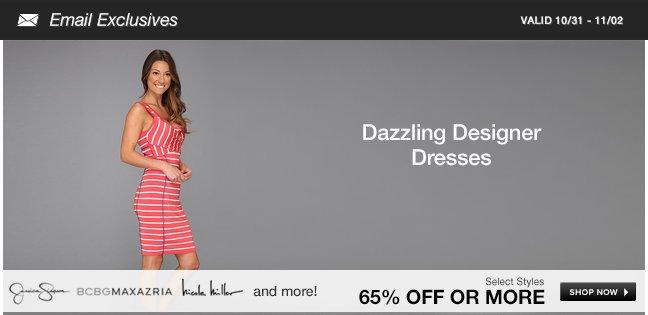 Dazzling Designer Deals: Dresses