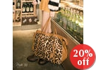 Leopard Print Messenger Bags