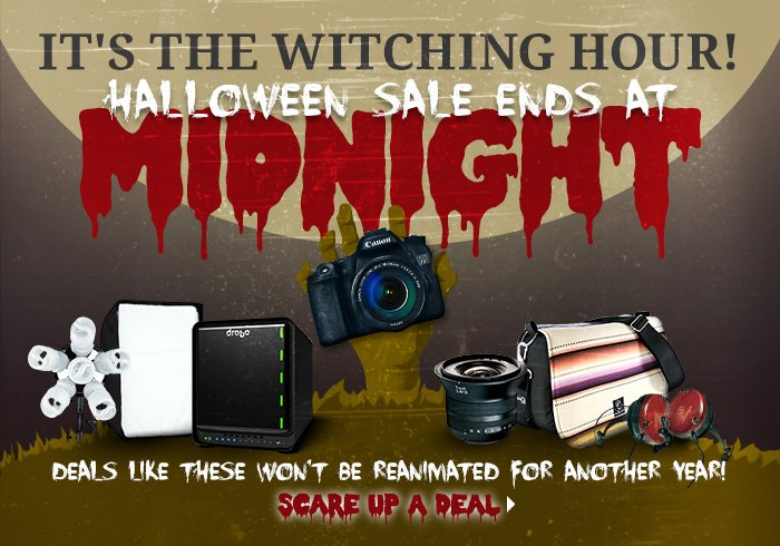 Halloween Sale Ends @Midnight!