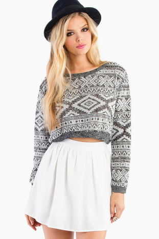 CAROLINA CROP SWEATER 26