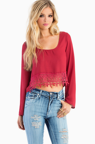 CAROLINE CROPPED BLOUSE 29