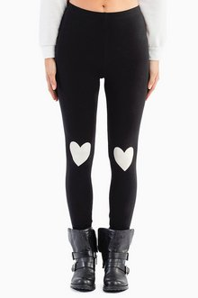 HEART ON MY KNEE LEGGINGS 26