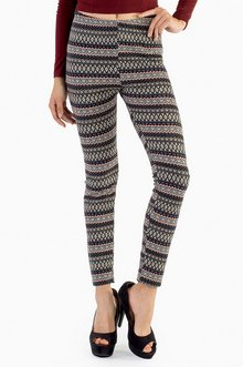 CAILIN TRIBAL PRINT LEGGINGS 28