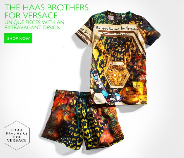 The Haas Brothers for Versace - The Curator Project