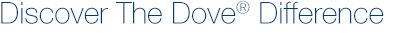Discover The Dove(R) Difference