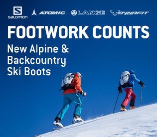 New Alpine & Backcountry Ski Boots