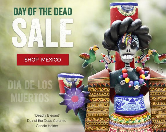 Day Of The Dead SALE - Shop Mexico