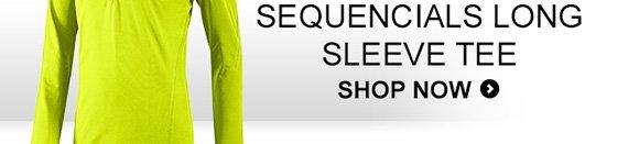 Shop Men's Sequencials 1/2 Zip Long Sleeve  Tee »