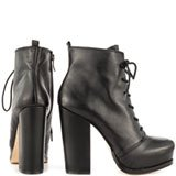 Ithaka - Blk Silky Leather