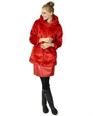 Traka Barraka Faux Fur Coat