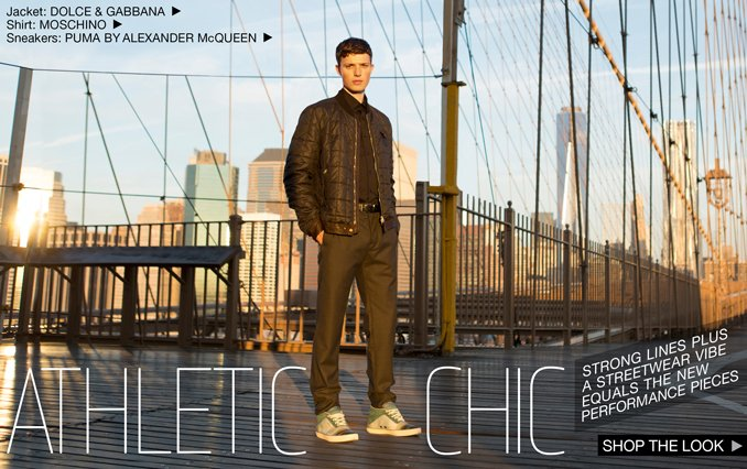 Athletic Chic - Shop the Look for Men
