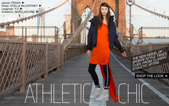 Athletic Chic - Shop the Look for Women