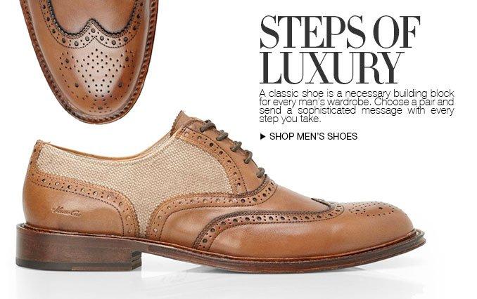 Steps of Luxury Mens