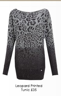 Leopard Printed Tunic