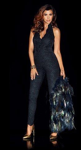 Kardashian Lace Halter Neck Jumpsuit