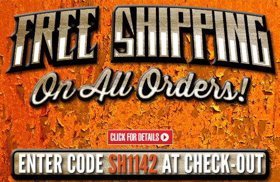 Sportsman's Guide's Free Standard Shipping on All Orders - No Minimum Order! Please enter Coupon Code SH1142 at Checkout. Offer ends Sunday, 11/3/2013.